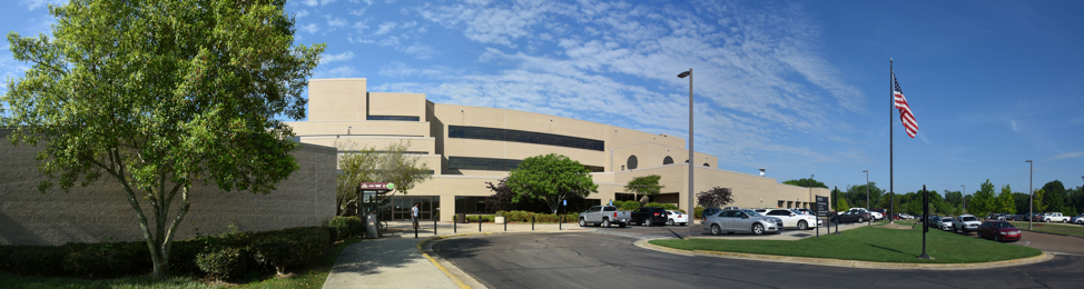 Outside view of the front of the Wise Center